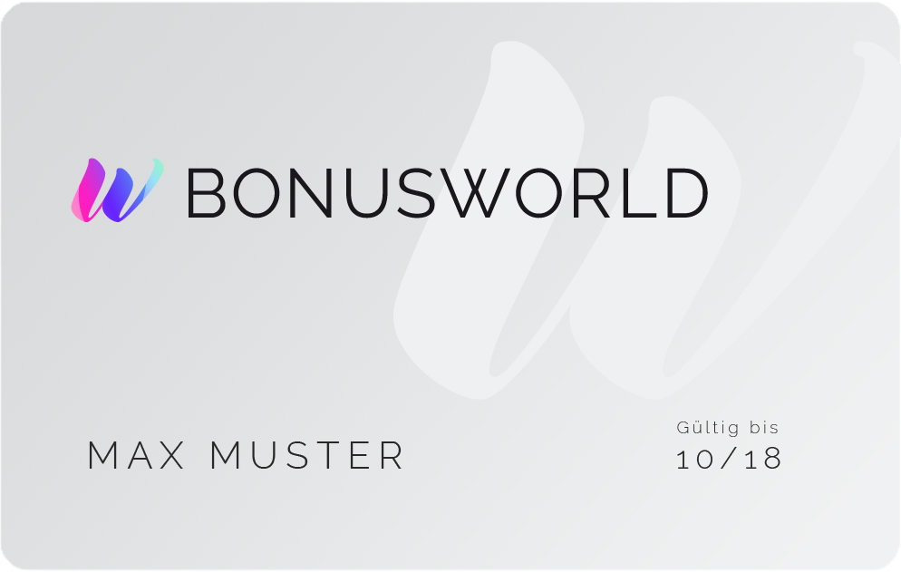 BONUSWORLD Card kaufen